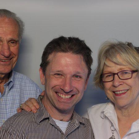 John Hock, Robert Hock, and Joan Hock