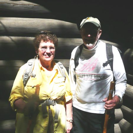 Elizabeth Thomson and Thomas Heberlein talk about Neopit USFS recreational residence cabin on Priest Lake, Idaho