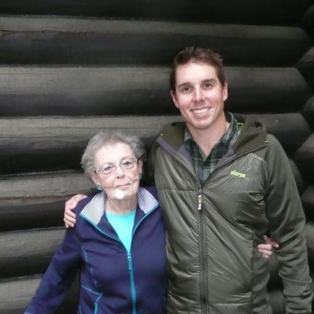 Damon Runberg interviews his grandma Jeanne McAlexander Tomlin about family ties at Priest Lake
