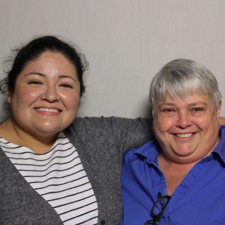 Mary Babcock & Lorena Velázquez-Hinojosa