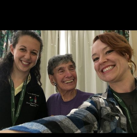 JAWS CAMP Interview: Betsy Wade talks with her granddaughter Leah Boylan and Lauren McGaughy