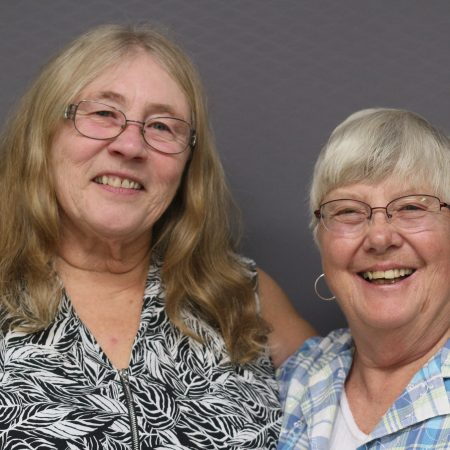 Sandy Schulz and Betsey LaPointe