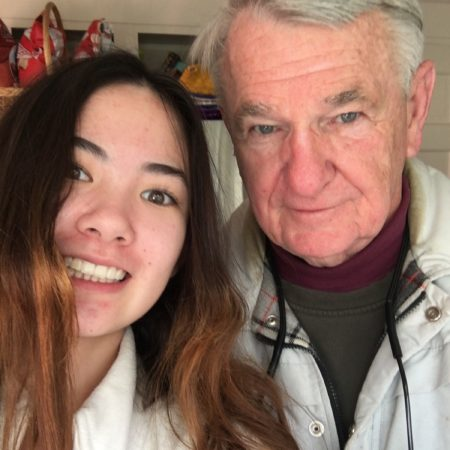 a lovely interview with my Papa