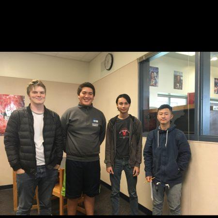 SCHS Class of 2018- Isaac, Ryan, Matthew, and Sung
