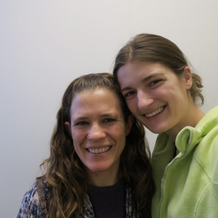 Kristin Gagne and Jessie Robertson