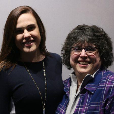 Stephanie Joseph and Adrienne Wilson
