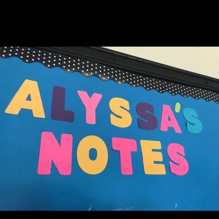 Grabación con Alyssa