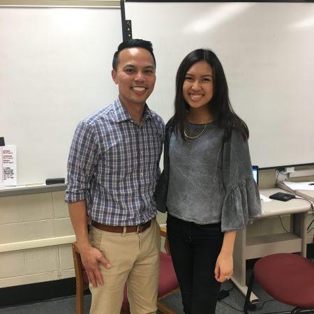 Anya and Mr. Truong