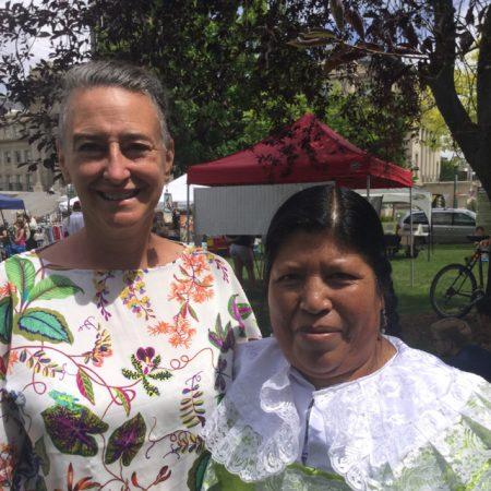 Enriquetta speaks the Mazahua Language