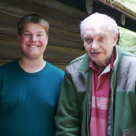 Ron Walker, interviewed by his grandson Max Kendall, recalls his years at Outlet Bay and changes in fishing at Priest Lake.