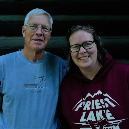 Sarah Shoquist interviews her dad Tom Weitz about their family's history at Priest Lake