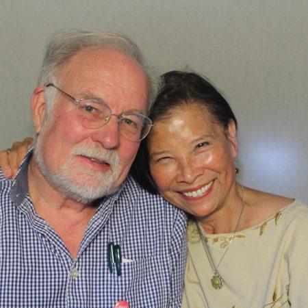 Melody Lin and Charles Loring Woodman