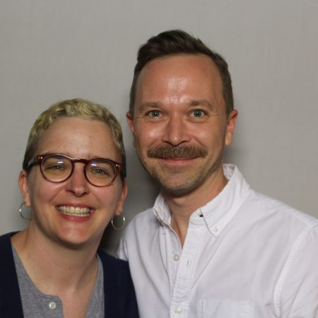 Jason Loper and Amy Short
