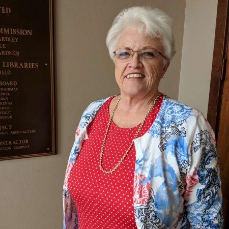 The library provided a comforting place to Maureen Booth when her family relocated to St. George, Utah
