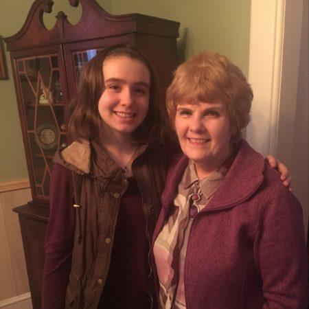 Lelaina Beauregard finishes interviewing her Grandma Diane about her life.