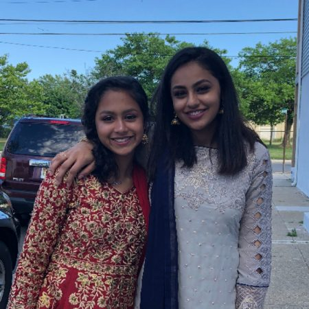 Samia and Sadia Alam talk about their childhood and growing up together.