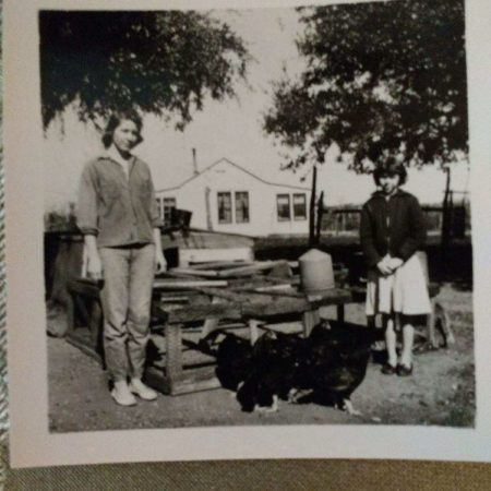 Granny's life as a young farmer in Texas and the development of her Thanksgiving