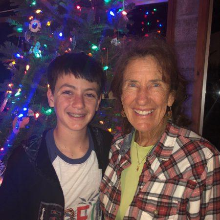 Caleb McKendry with Sandra Ednie childhood interview