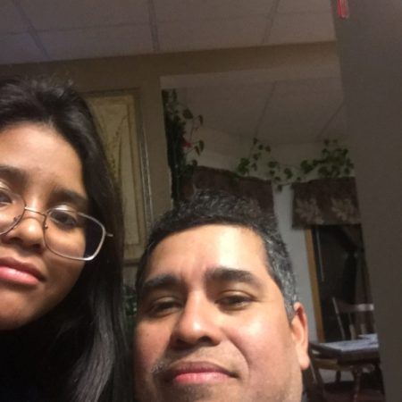 Daniela Barragan talks to her dad Manuel Barragan about growing up and 9/11 in Whitewater, Wisconsin