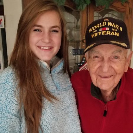 Mr. Jim Long, 93-year-old World War II Air Force Veteran, shares his experience and memories in an interview with Masie Hollingsworth
