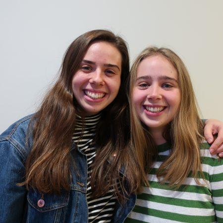 Emily Swinth and Kira Swinth