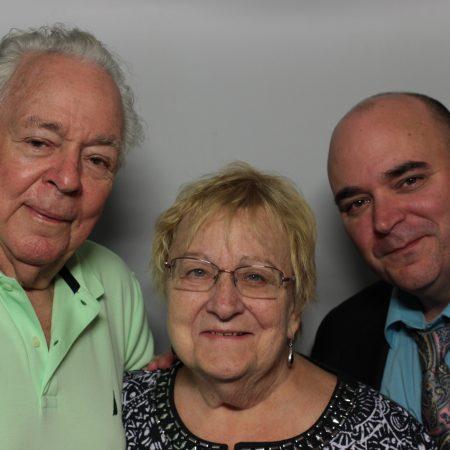 Susan Broitman, Marshall Broitman, and Jed Broitman