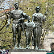 Neighbors remembering the life of America's greatest monumental sculptor