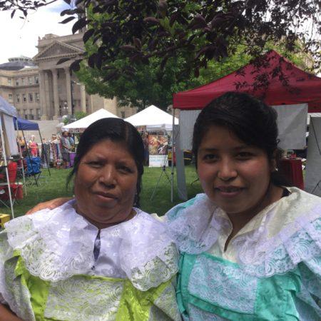 BoiseSpeaks: Cultura Mazahua y Bordado Mazahua