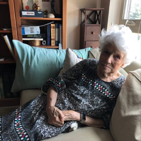 92 year-old mother tells daughter story of her first true love.