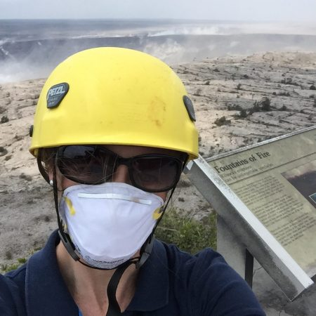 """""""As a Fellow at the USGS, I had the opportunity to learn first-hand how science is used in decision making for emergency response."""""""