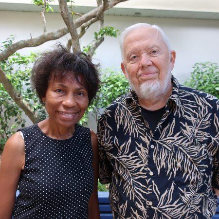 Elizabeth Coleman and John LeSar