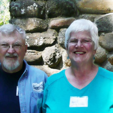 Earle and Judy Ruddach share stories about generations at their vacation cabin on Priest Lake