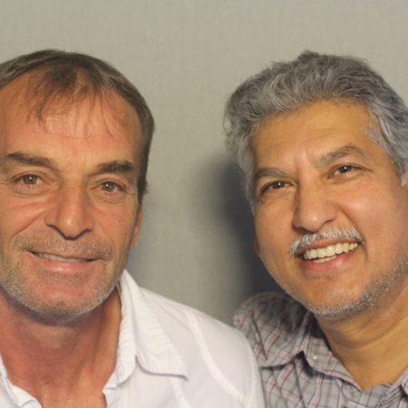 Tahir Vitija and Adil Mohammed