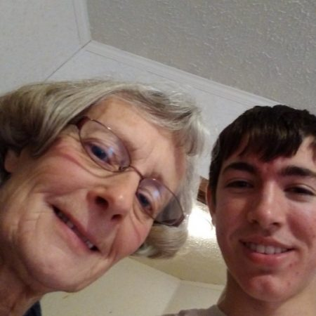 Asa Jassen talks to his grandma Vicki Johnson about her childhood and growing up
