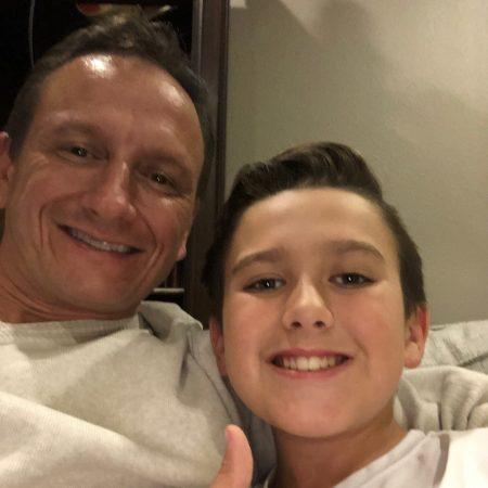 Hudson interviewing Dad  #VenadoMiddleSchool