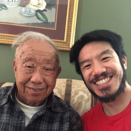 On his own, from Hong Kong to America