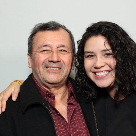 Sarah Gibson and Humberto Perdomo