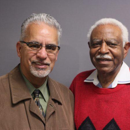 Amos Johnson and Michael Brunker