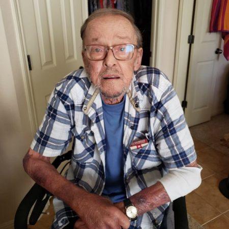 Kelly interviews grandpa chuck dec 2017 about hiking etc