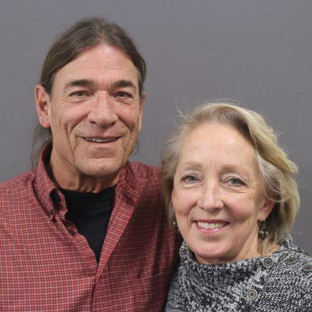 Victoria Hamilton and Paul Hobson