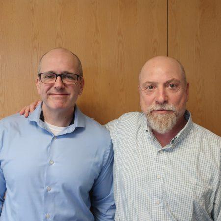 Jason Plamodon and Mike Drummond