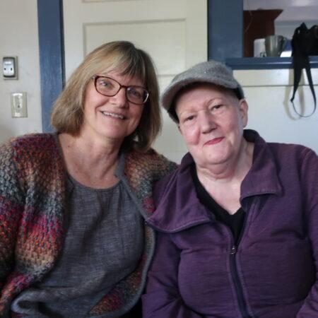 Linda Albert and Roxanne Rogers