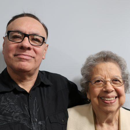 Carmen Benavides and Lorenzo Lopez