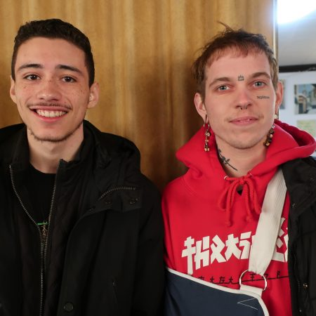 Andrez Chuney and Ezra Kelly