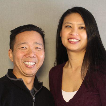 Billy Taing and Jill Hanhong