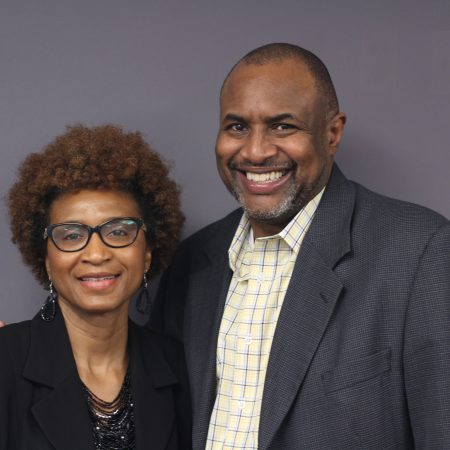 Constance Dyson and Andre Johnson
