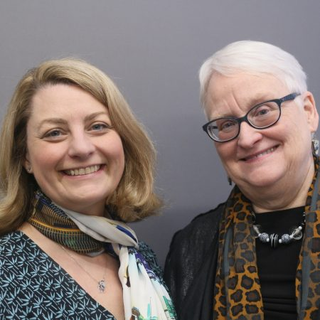 Martha Lutman Brogan and Margaret Sullivan
