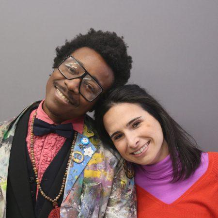 Kwadwo Adae and Sarah Fritchey