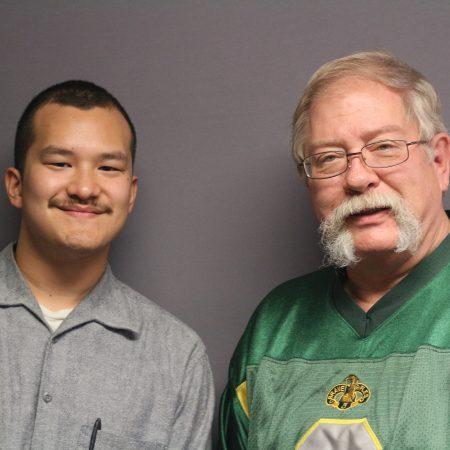 Kevin Dasing and Luigi Villanueva