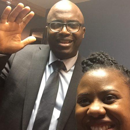 Blessing Agbaje and John Davids